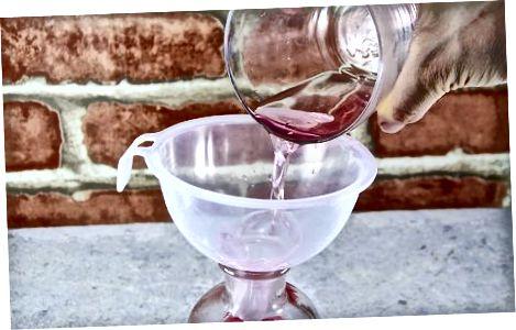 装瓶和储存糖浆