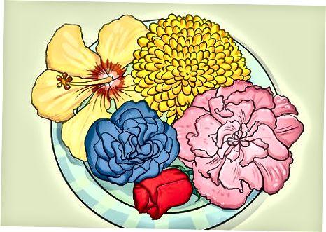 ყვავილების არჩევა და მომზადება