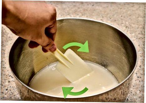 Preparació de la farina, paelles i llevats