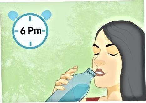 Trinken von Magnesiumcitrat vor einer Koloskopie