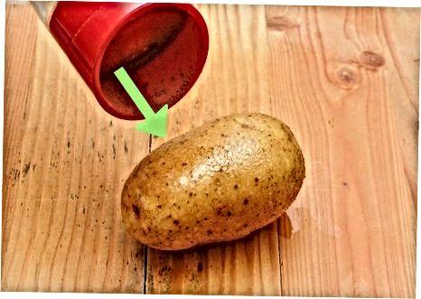 تهیه سیب زمینی