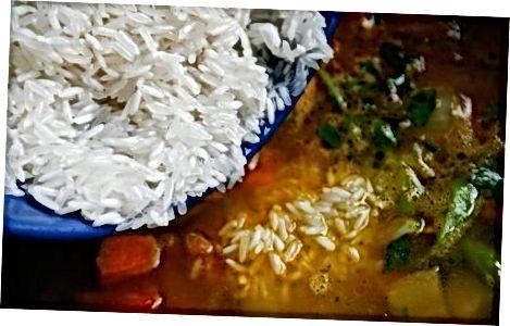 Cozinhando o Biryani