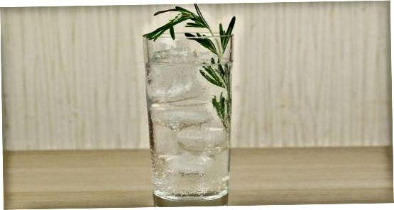 Að búa til Gin Mare kokteil