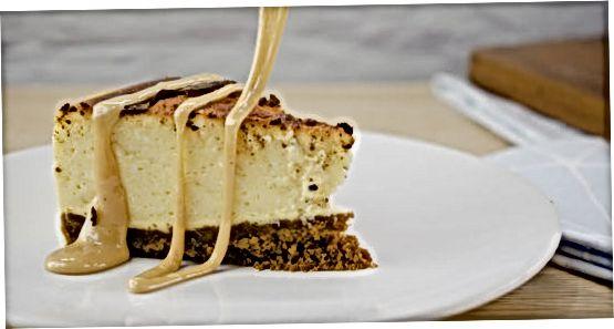 Cheesecake o'zgarishlari