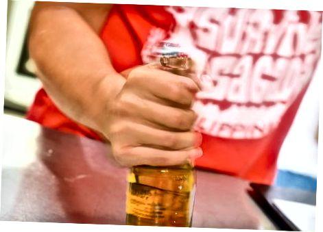 Ngrirja e një birre para syve tuaj