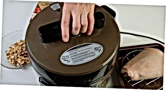 Виготовлення копченої шинки з шишок
