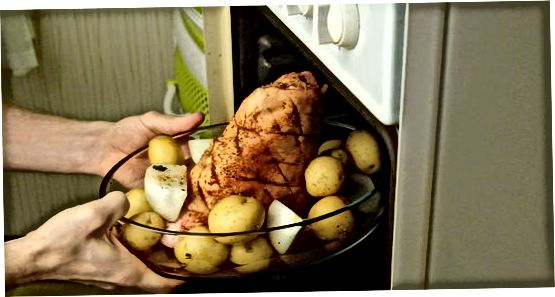 Прављење печених шунки