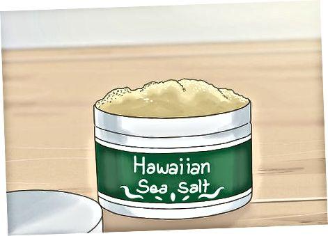 Nakupovanie pre morskú soľ