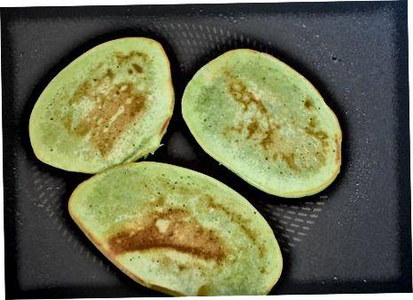 绿色天鹅绒煎饼