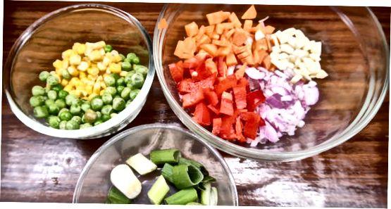 Vorbereitung zum Kochen