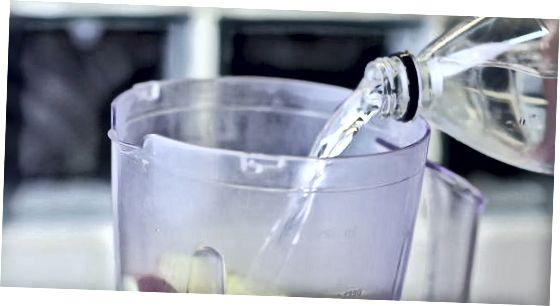 ブレンドした生リンゴジュースを作る