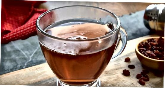 शिसांद्रा बेरी चाय बनाना