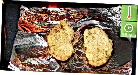 سینه مرغ یا ران مرغ ترد و پخته شده