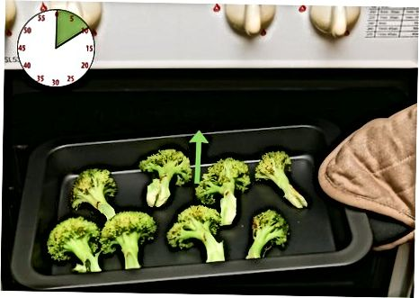 Смаження замороженої брокколі в духовці