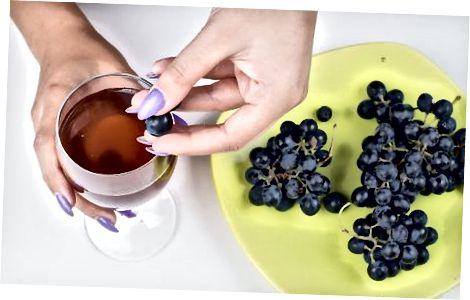 Külmutatud viinamarjade kasutamine