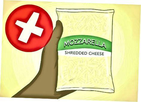 Mozzarella juustu valimine