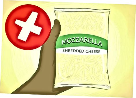 Izbira sira Mozzarella