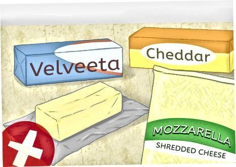 Uporaba sira na pici