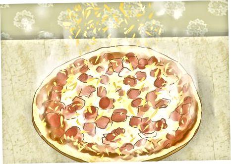 Juustu kasutamine pitsa peal