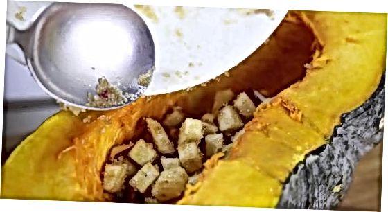 Тиквица од лептира са сјецканом јабуком