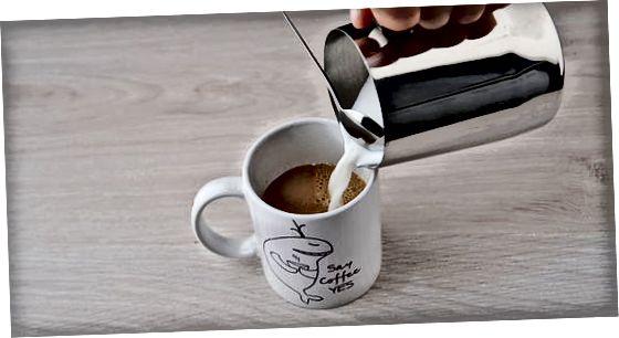 Espresso mashinasidan foydalanish
