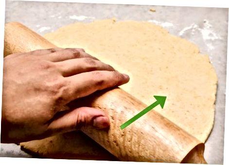 მომზადება Pie Crust