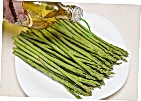 ძირითადი შემწვარი asparagus
