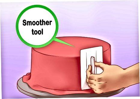 用软糖盖蛋糕