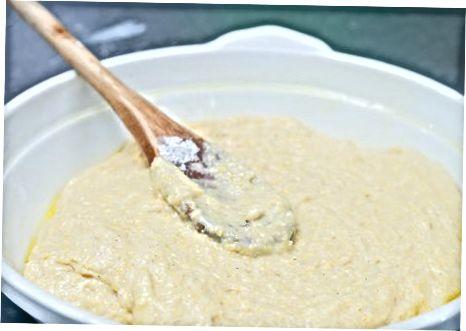 De maisbrood bakken