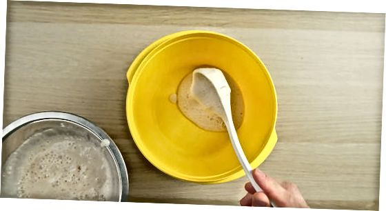 Shtimi i miellit dhe ujit