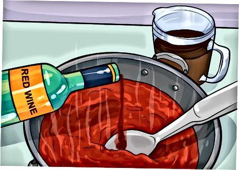 Erstellen einer Bolognese-Sauce