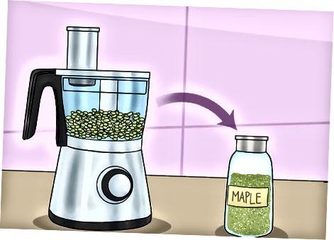 Utilització de llavors d'auró en aperitius i menjars