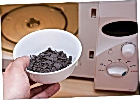 הכנת מילוי רוטב השוקולד