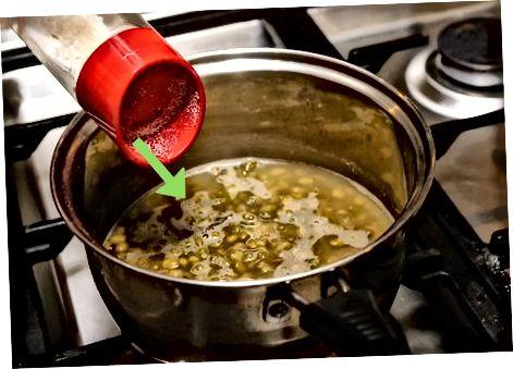 Getrocknete Mungobohnen kochen