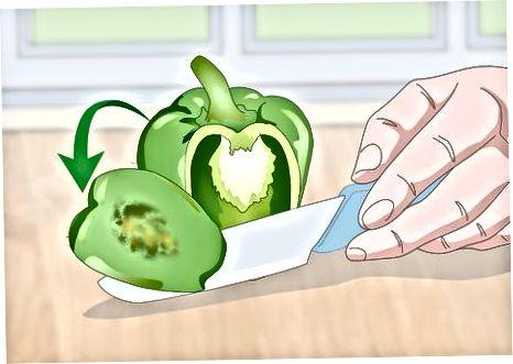 Shranjevanje zelenjave z manjšimi slabimi točkami