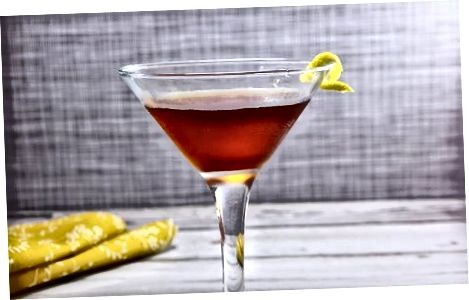 Vermutni kokteylda ichish