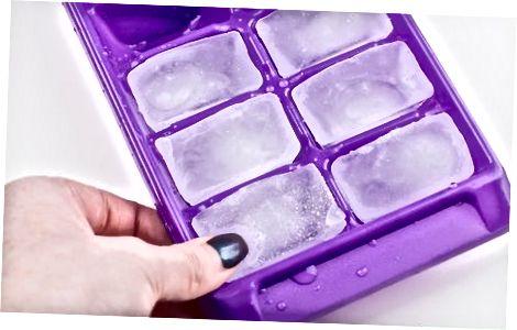 Congelar los cubitos de hielo