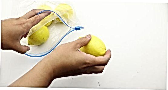 Barcha limonlarni muzlatish