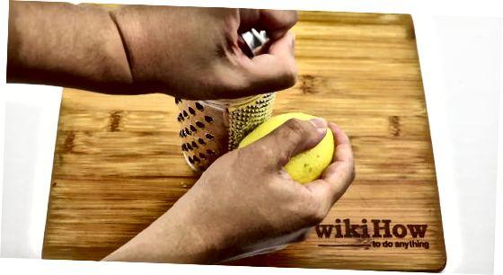 Limon Zestini dondurucuda joylashtirish