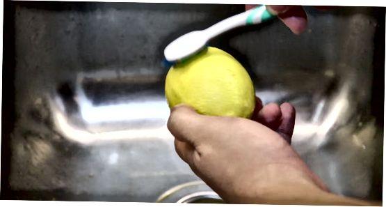 Limonlarni muzlatishga tayyorlash