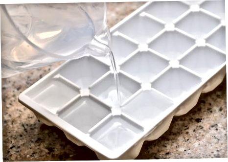 להכין קרח רגיל