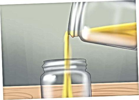 Fazendo o óleo de amêndoa no liquidificador