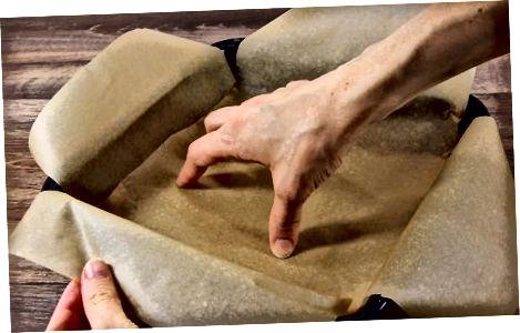 Pergament qog'ozi bilan pishirilgan muomalalarni yaratish