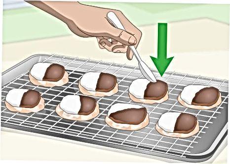 Padalinių smokinių sausainių gaminimas