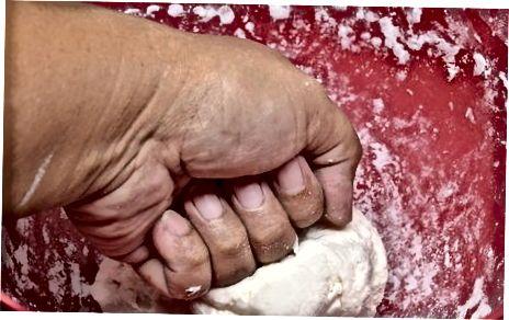 手工制作饺子