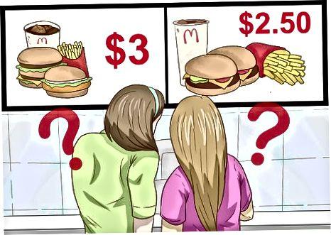 Nuspręskite, ką užsisakyti