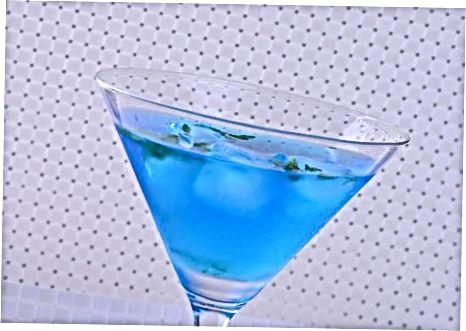 Bruke din blå Curaçao