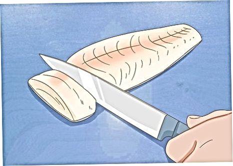 Marrja e prerjeve të sakta të filetove