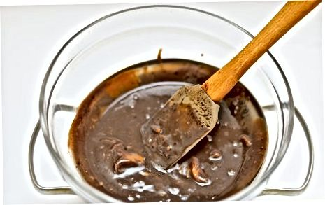 Chocolade en Butterscotch afgebroken snoepjes