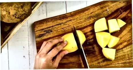Kuldse pruuni keedukartuli keetmine